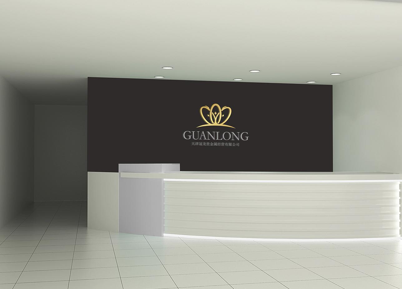 贵金属logo设计_天津冠龙-北京标志VI知名设计公司